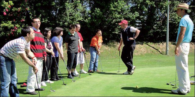 Golf, ocio y salud
