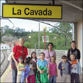 En la estación de La Cavada