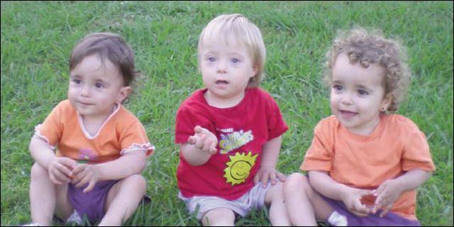 Leire, Saúl y Lucía llegaron a nuestras vidas el 25 de julio de 2008