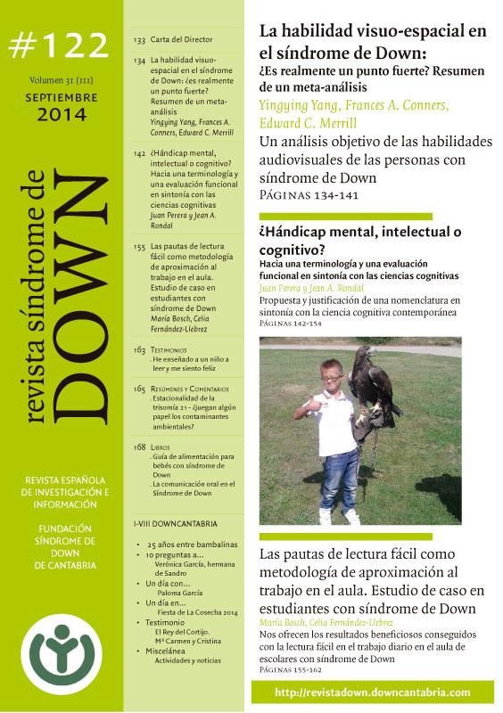 Revista síndrome de Down septiembre 2014