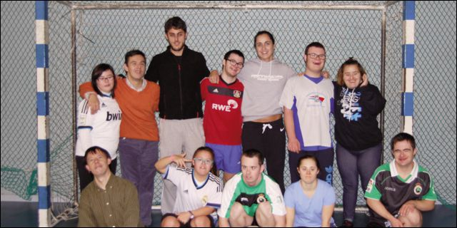Actividad de Fútbol Sala