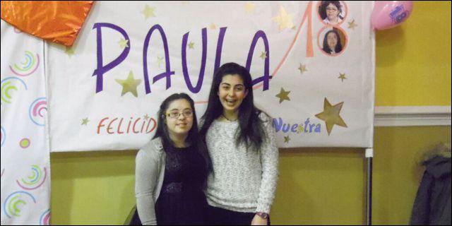 Paula Celada, fiesta de cumpleaños