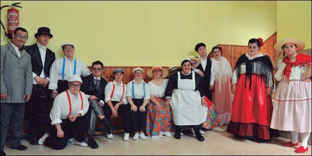 Actores y actrices del taller de teatro